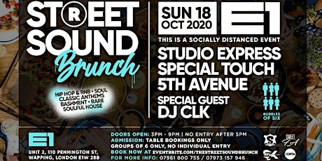 The Street Sound Brunch tickets