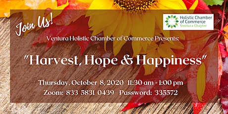 Harvest, Hope & Happiness tickets