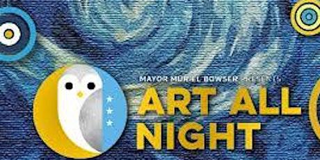 ArtRave's Art All Night tickets