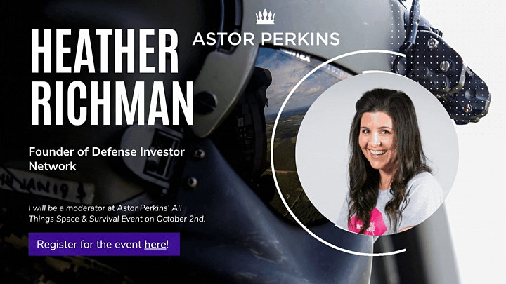 Astor Perkins October 2nd Event: All Things Space & Survival image