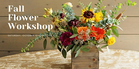 Fall Flower Workshop tickets