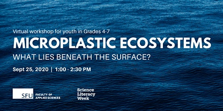 Microplastic Ecosystems: What lies beneath the surface? tickets