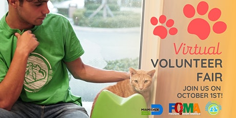 Virtual Animal Shelter Volunteer Fair tickets