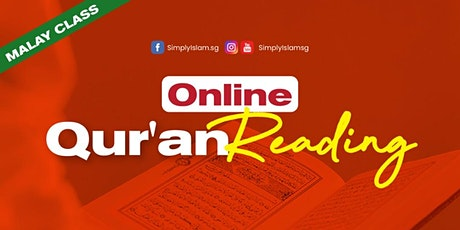 Online Qur'an Reading (Malay) tickets