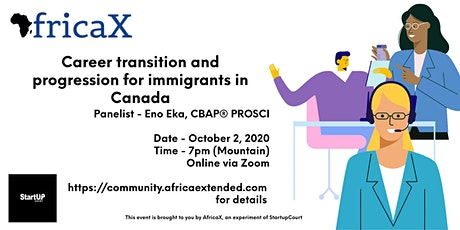 Career transition and progression for immigrants in Canada tickets