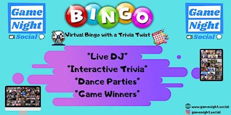 Friday Night Bingo  (09.25) tickets