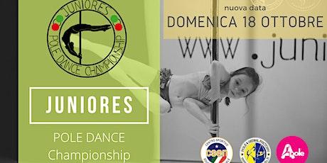 JUNIORES POLE DANCE CHAMPIONSHIP 2020 biglietti
