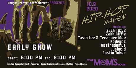 Hip-Hop Haven (Early Show) tickets