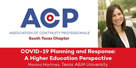 COVID-19 Planning and Response: A Higher Education Perspective tickets