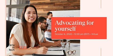 Girls in Tech Toronto: Advocating for Yourself tickets
