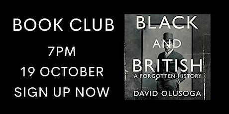 Black and British by David Olusoga - Online Book Club tickets
