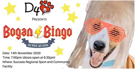 DFL's Dog Rescue Bogan Bingo tickets