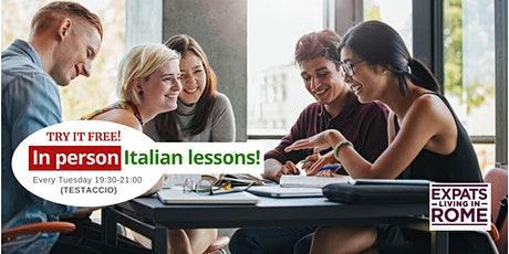 Italian lessons In-Person | Try it free (Testaccio) tickets