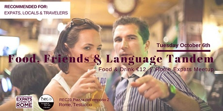 Food, Friends & Language Tandem tickets