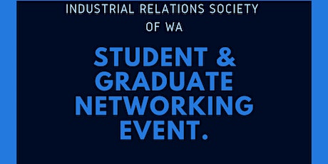 IRSWA - Student and New Professionals Networking Event tickets