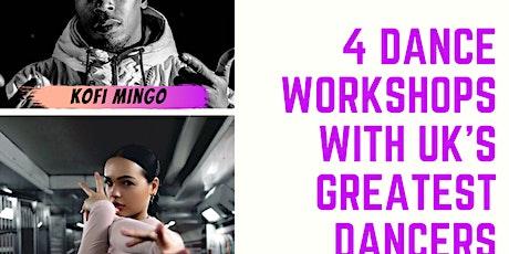 Dance workshops tickets