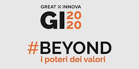 #Beyond, i poteri dei valori.E' in arrivo Great Innova 2020 a Cuneo biglietti