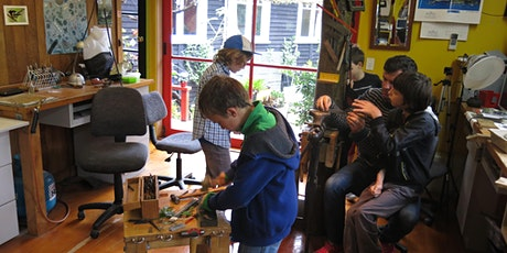 KIDS WORKSHOP at BUSH JEWELLERY STUDIO  (ages 8 to 13) tickets