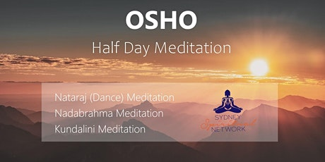 Osho  Active Meditation Half Day tickets