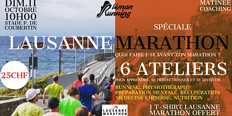 Matinée Coaching  Lausanne Marathon tickets