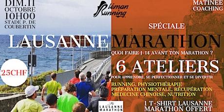 Matinée Coaching  Lausanne Marathon billets