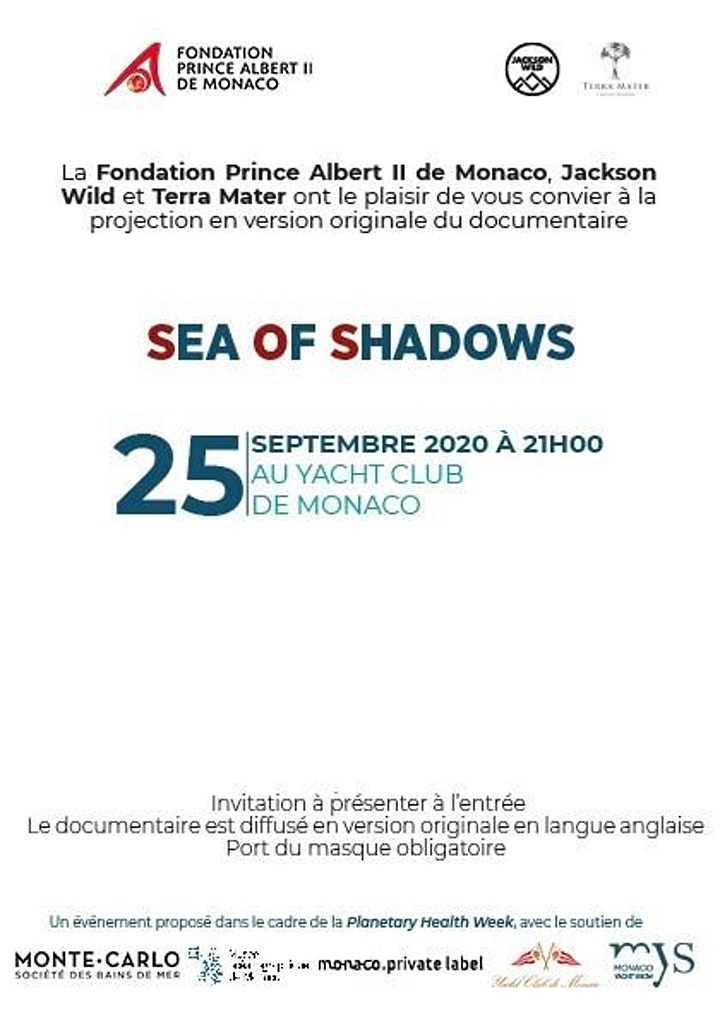 "Image pour Projection du documentaire ""Sea of Shadows"""