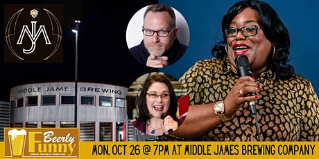 Middle James Brewing Comedy Night -7 p.m. - A Beerly Funny Production tickets