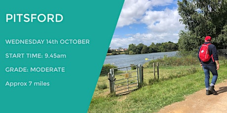 PITSFORD DAYTIME WALK | 7 MILES | MODERATE | NORTHANTS tickets