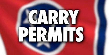 Enhanced Handgun Carry Class tickets