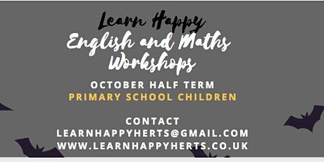 Learn Happy October Half Term Workshops - Year 1 tickets