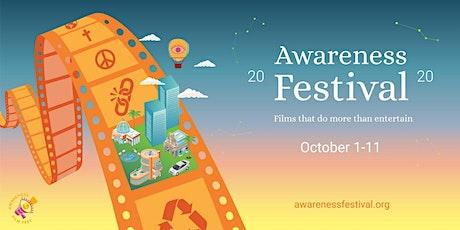 Awareness Film Festival 2020: October 7th tickets