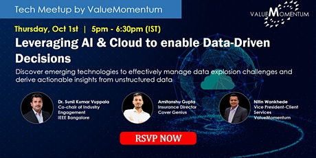 Leveraging AI & Cloud to enable data-driven decisions tickets