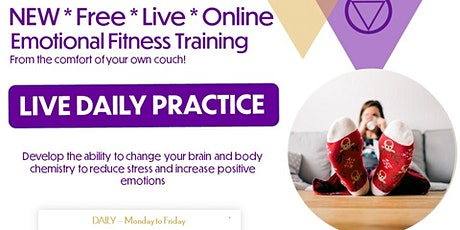 Emotional Fitness Training - From Your Couch! tickets