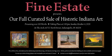Fall Curated Sale of Historic Indiana Art tickets