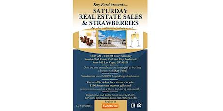 Saturday,  Real Estate Sales & Strawberries tickets