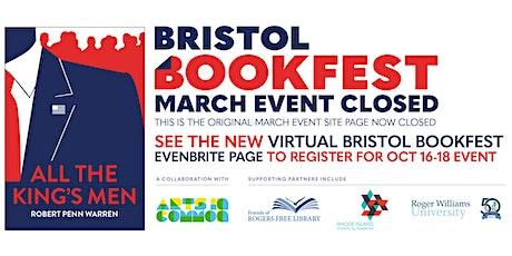 2020 Bristol BookFest tickets