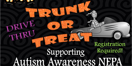 Autism Awareness Trunk or Treat tickets