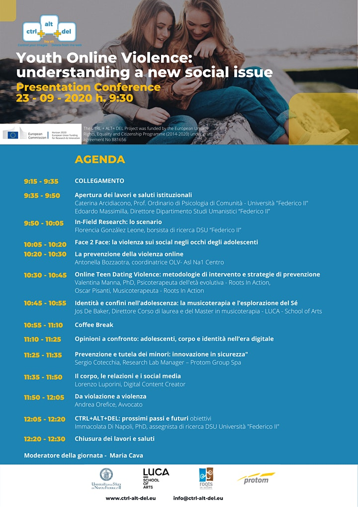Immagine CTRL+ALT+DEL International Presentation Conference