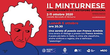 Il Minturnese - Franco Arminio biglietti