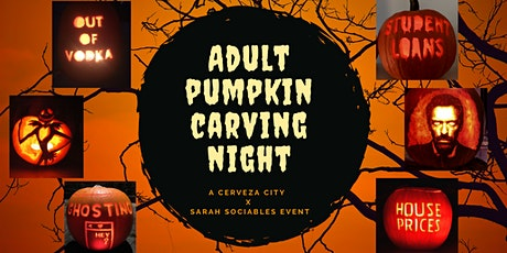 Adult Pumpkin Carving Night tickets