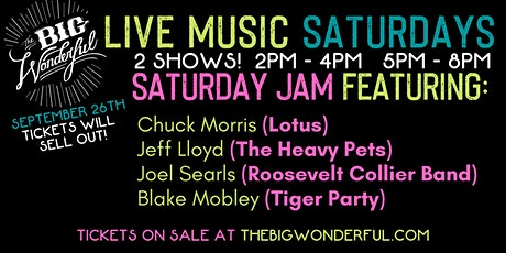 Saturday Jam ft. Members of Lotus, The Heavy Pets & More tickets