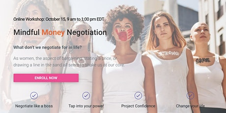 SuzieSquared Mindful Money Negotiations Virtual Workshop-Women Welcome tickets