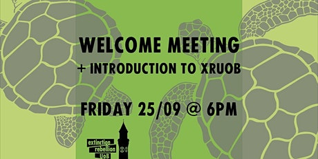 Welcome Meeting + Introduction to XRUoB tickets