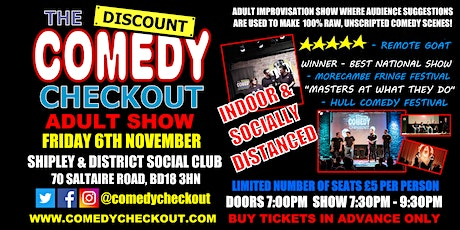 Adult Comedy Show at Shipley and District Social Club tickets