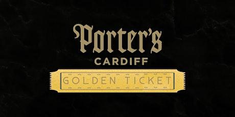 Porter's Bar - Golden Ticket (Saturday Afternoon)  tickets