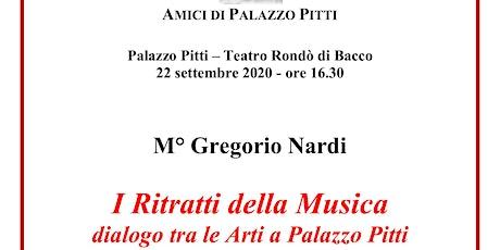 """Gregorio Nardi: """"I Ritratti della Musica, dialogo tra le Arti a Palazzo Pit biglietti"""