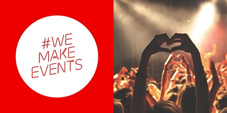 #WeMakeEvents - London Tell Us Your Story Filming Day 11:30-12:00 tickets