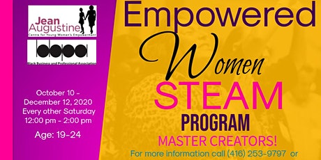 "Empowered Women S.T.E.A.M. Program ""Master Creators"" tickets"