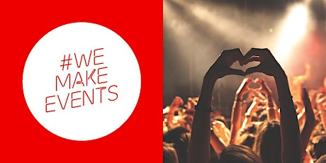 #WeMakeEvents - London Tell Us Your Story Filming Day 13:30-14:00 tickets