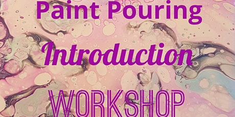 Paint pouring introduction - Buckinghamshire tickets